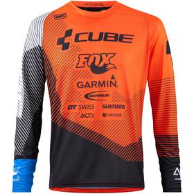 Cube Edge Långärmad cykeltröja Herr orange